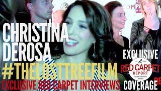 """Christina DeRosa interviewed at """"The Lost Tree"""" Film Premiere #thelosttreefilm"""