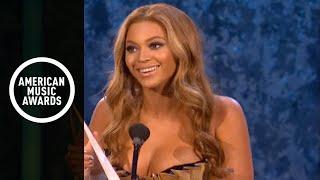 Beyonce Receives International Artist Award - AMA 2007