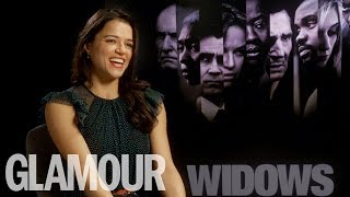 Michelle Rodriguez on being a 'violent child' & destroying her ego for 'Widows' | GLAMOUR UK