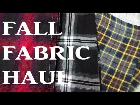 Fall Fabric/Notions & Pattern Haul