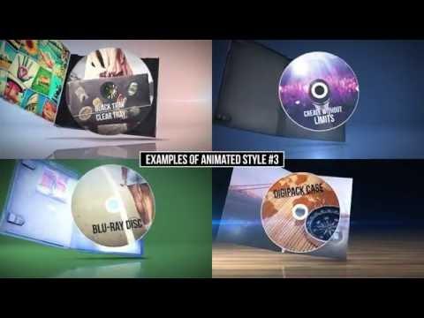 The Media Pack - CD jewel case, DVD standard, Blu-Ray