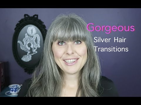 Gorgeous Silver Hair Transitions