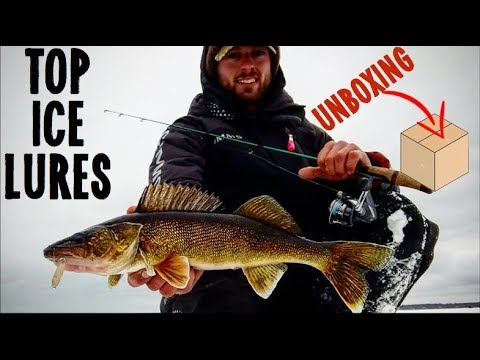 Top Ice Fishing Lures - Unboxing