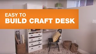 Design A Stylish Craft Station Or Desk
