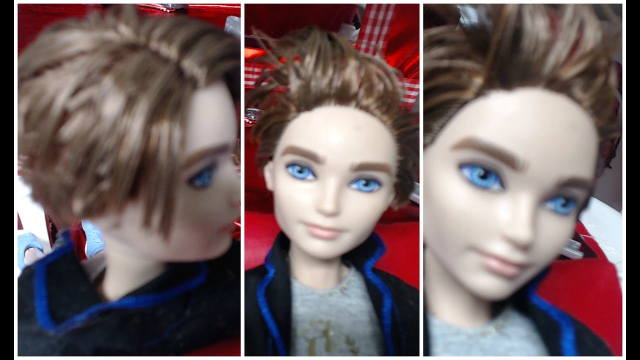 Cute hairstyles for barbie dolls - Cute Dolls And Boys Hairstyles How To Make A Bob And Pixie Ever After Doll Boy Haircut And Style Youtube