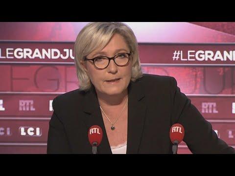 """Marine Le Pen invitée du """"Grand Jury"""" dimanche 19 novembre 2017"""