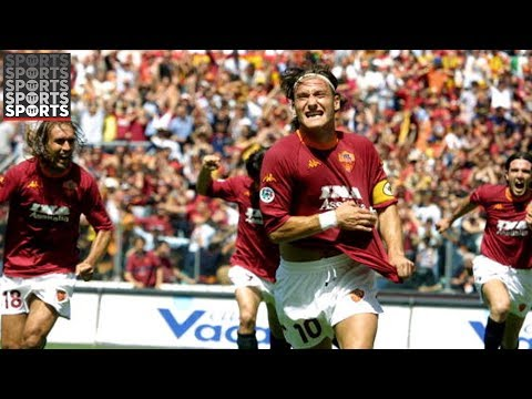 Francesco Totti Was A Titan for Roma and Italy