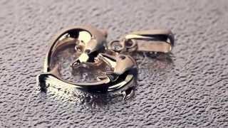 Золотой кулон Дельфины с бриллиантами(, 2014-04-29T18:44:58.000Z)