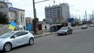 Автомайдан-Херсон. 16 марта 2014г.(Движение по Острову., 2014-03-16T15:23:10.000Z)