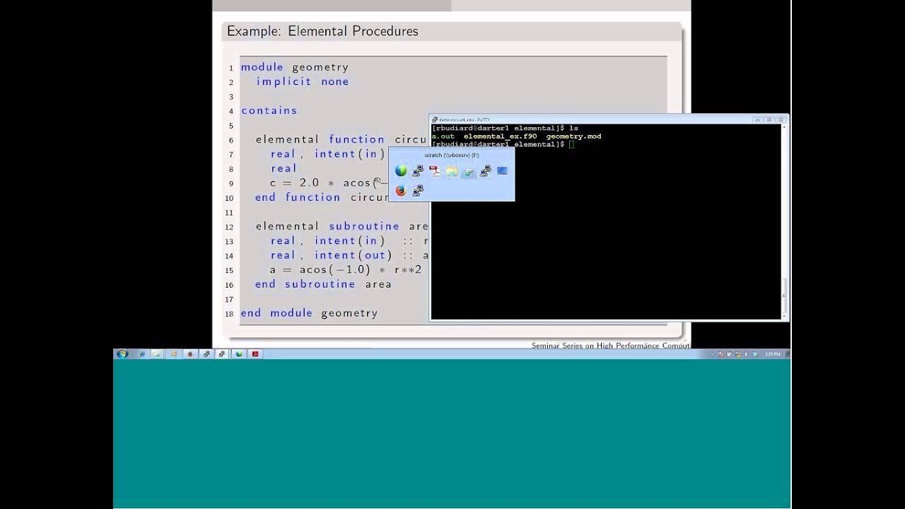 Introduction to Fortran language Part2 20140121 1910 1