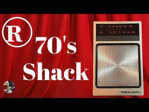 70s Shack! Realistic 12-714 AM FM Radio Review