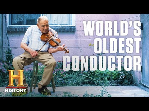 At 100, Ed Simons Became the World's Oldest Active Orchestra Conductor | History NOW | History