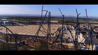 267 Days Timelapse at Mega Coaster | Energylandia Poland | Hyperion