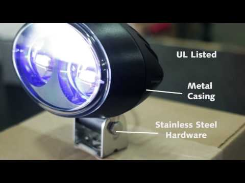 Forklift Blue Safety Light From Intella Liftparts