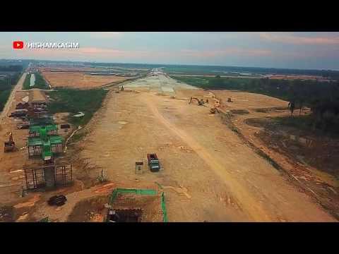 WCE - Bandar Bukit Raja | West Coast Expressway | Drone Footage 9.9.2018