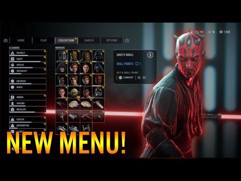 New Hero Intros! - Star Wars Battlefront 2: Menu Update