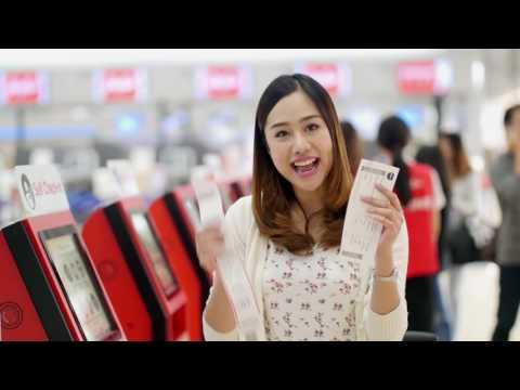 AirAsiaThailand: Self Bag Drop ปริ้นท์-แปะ-ปี๊บ