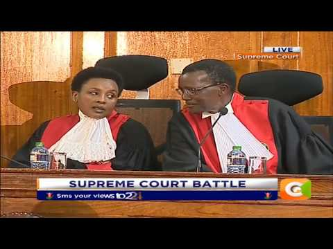 Citizen Extra : Supreme Court Judges arrive for the Pre-trial hearing