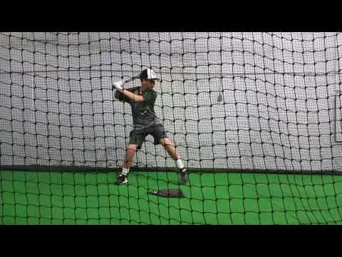 Ty B. Cobb hitting 9/2/16