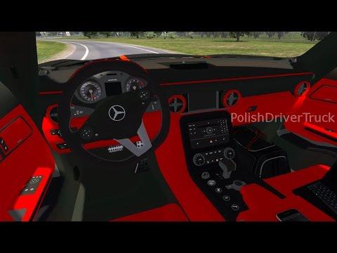 Ets2 1.27...PDT...Mercedes Benz SLS AMG v1.0 1.27.x