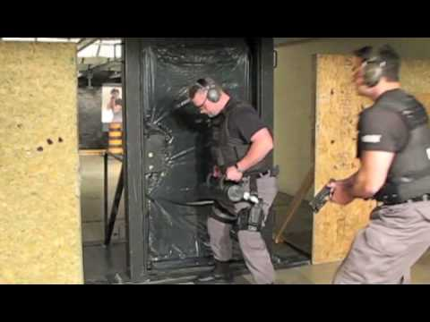 & Juggernaut Tactical Training Breaching Door - YouTube