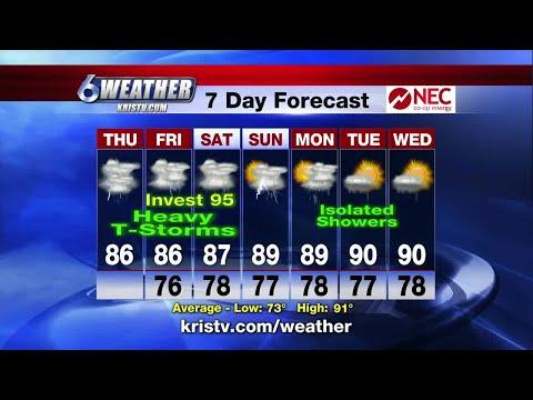 Coastal Bend Weather Forecast Sept. 13, Sunrise