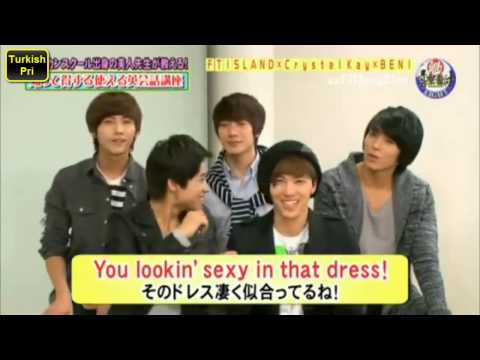 [FT ISLAND] Funny English Lessons (Türkçe Altyazılı/Turkish Sub.)