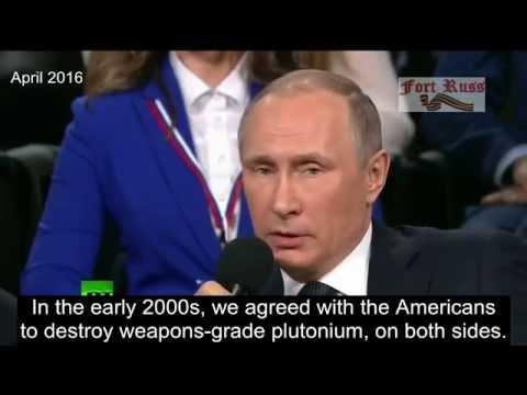 Putin on Obama's failed promises [Guantanamo]