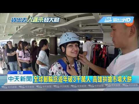 20190331中天新聞 國際客貨日增 韓國瑜再喊話:高雄需要國際機場!