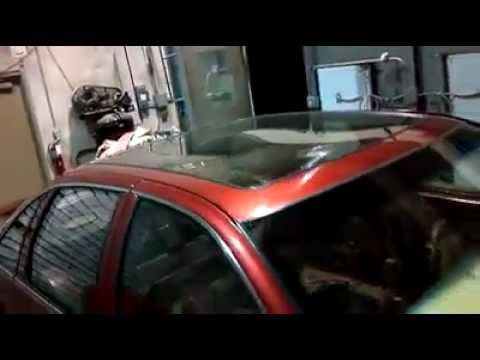 """Chevy Caprice Bubble on 26"""" Forgiatos...Glass Roof - YouTube"""