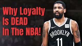 A Theory On Why Loyalty Died In The NBA!