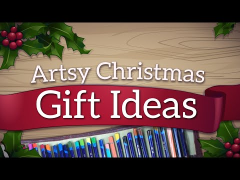 Christmas Gift Ideas for Artists