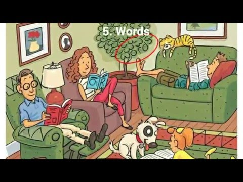 Find the 6 hidden words in the photo! Can you??