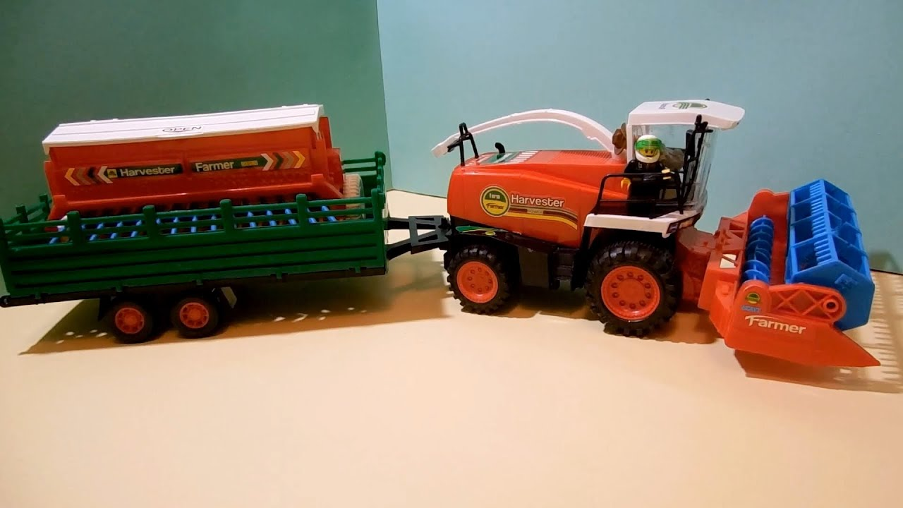 Собираем урожай! Комбайн Харви - WOW TOYS Детские игрушки Kids .
