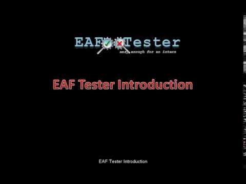 EAF Tester Introduction