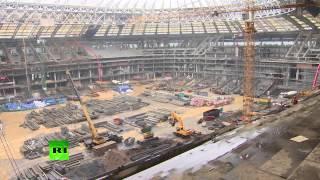 Специалисты ФИФА посетили стадион «Лужники»