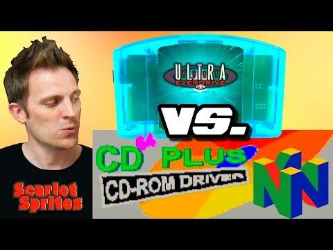 N64's CD64 vs. Ultra Everdrive 64