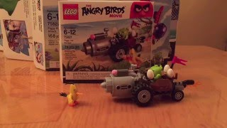Lego The Angry Birds Movie Piggy Car Chase Review 75821