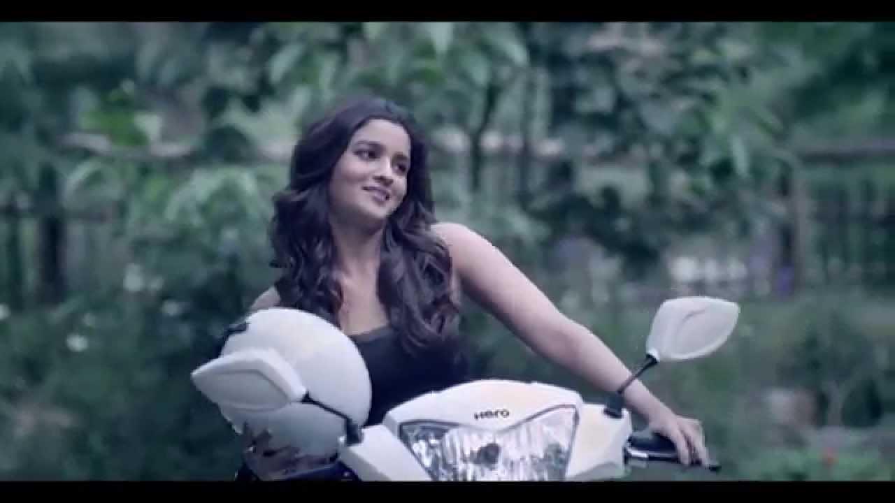 Hero Pleasure Tvc Featuring Alia Bhatt Youtube