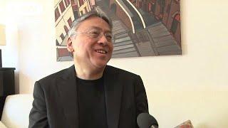 ノーベル文学賞受賞が決まった日系イギリス人のカズオ・イシグロさん(6...