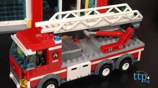 Lego City Fire Station From Lego