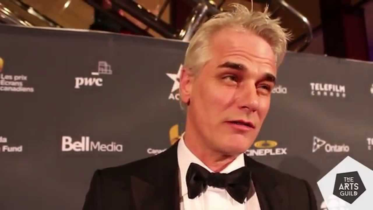 Paul Gross On The Red Carpet With Adnan M 2015 Canadian