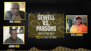 Penei Sewell v. Micah Parsons: Battle for No. 2 on TDN100 Big Board