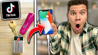 We TESTED Viral TikTok Life Hacks... **THEY WORK** (PART 18)