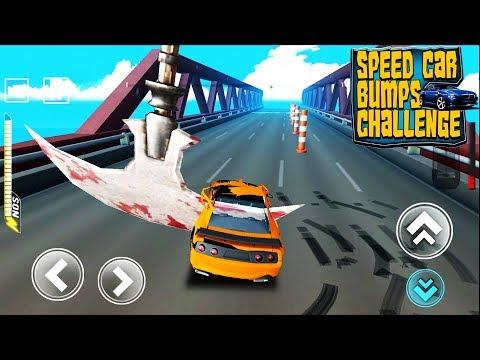 Speed Car Bumps Challenge Deadly Race - Не разбей тачку челлендж машинки гонки прохождение игры #1