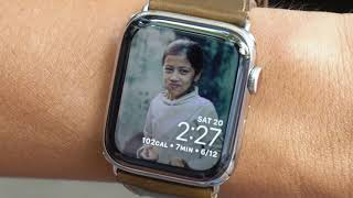 Mang 500 hình người quen lên Apple Watch coi cho khỏi quên