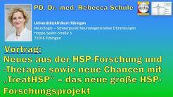 Frau PD Dr. Rebecca Schüle: Vortrag auf dem HSP-Info-Tag 2019 in Bremen