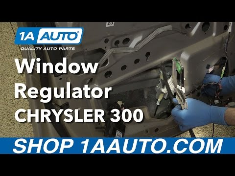 How to Replace Front Window Regulator 05-10 Chrysler 300