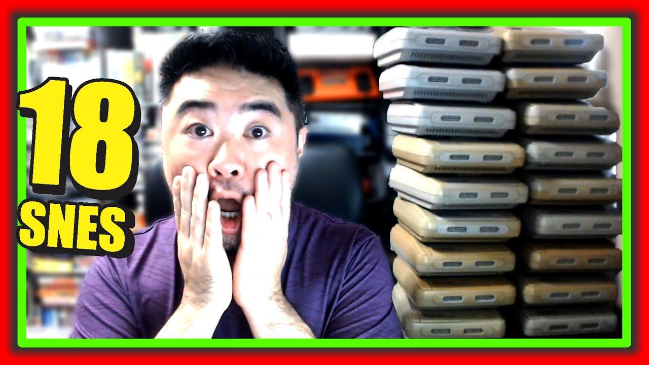 Comprei 18 Super Nintendo I Todos Funcionaram ?? I Quanto será que foi ??
