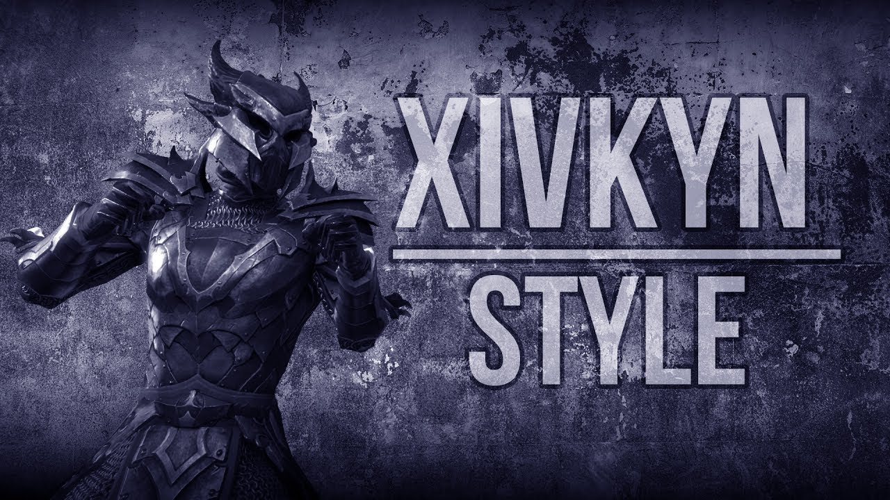 Eso Xivkyn Motif Armor And Weapon Showcase Of The Xivkyn Style In